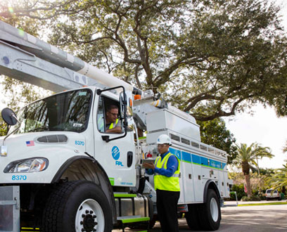 Florida Power & Light Truck