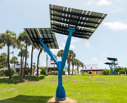 NexEra Energy Solar Tree