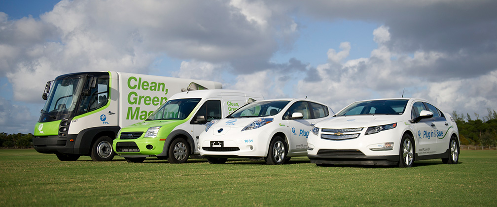 FPL clean vehicle fleet