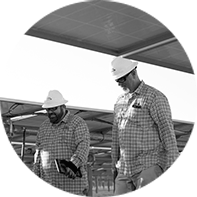 NextEra Energy Solar Farm workers